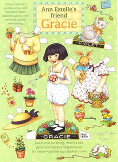 Gracie Spring http://www.pinterest.com/pearlswithplaid/paper-dolls-for-real/