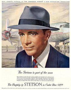 1949 ... Dana Andrews also wears hat!