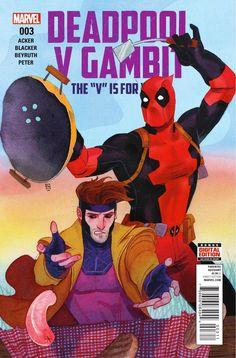 Deadpool Gambit #3 Marvel Comics Cover