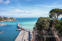 Thing 1, French Riviera, Fine Art America, Castle, Nice Art, France, Sea, Art Prints, Wall Art