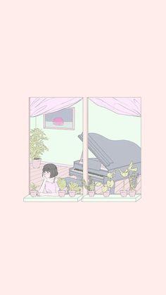 Pink Wallpaper Desktop, Halloween Wallpaper Iphone, Soft Wallpaper, Cute Anime Wallpaper, Graphic Wallpaper, Pretty Wallpapers, Tumblr Wallpaper, Aesthetic Iphone Wallpaper, Girl Wallpaper