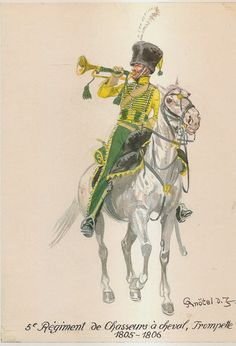 5th Chasseur a Cheval, Trumpeter 1805-1806
