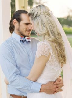 sweet moment and amazing hair / Byron Loves Fawn Photography