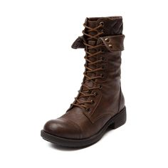 Shop for Womens Bullboxer Caliber Boot in Cognac at Journeys Shoes. Shop today for the hottest brands in mens shoes and womens shoes at Journeys.com.Fun and edgy combat boot of the highest Caliber, the Bullboxer Caliber features a smooth faux leather upper, 11-eyelet lace closure, and cuffable collar that folds down to reveal a lovely quilt patterned contrast.