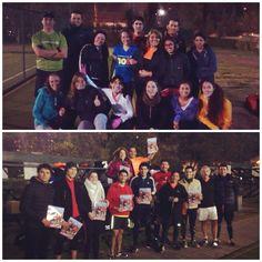 Seguimos día a día progresando en busca de nuestros objetivos con el grupo Lumi y Lan Road Runners #RunForLife