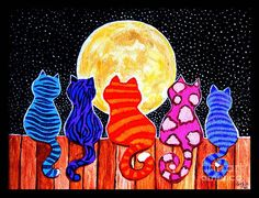 Arte Elemental, Cat Quilt, Cat Colors, Art Club, Art Plastique, Art Activities, Elementary Art, Teaching Art, Art Lessons