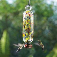 Carnival Tall Hummingbird Feeder