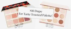 $16 Dupe for the Tarte Tartelette Toasted palette! (Spoiler: it's Colourpop) – tricks & trucco