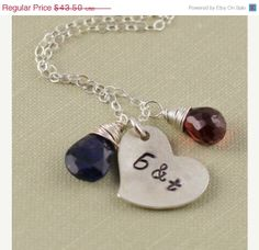 BLACK FRIDAY SALE 10 Off Initial Stamped by anatoliantaledesign, $39.15