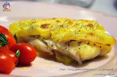 Filetto di merluzzo in sfoglia di patate | ricetta secondo | pesce