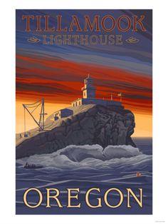 Tillamook Lighthouse, Oregon