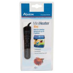 Aqueon® Mini Aquarium Heater is perfect for a 5 gallon or smaller tank.