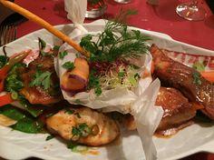 Festival aux poissons - Restaurant GriMouGi, Echternach, Lux.