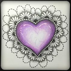 """Home of Certified Zentangle® Teacher Adele Bruno's """"It's a String Thing""""- a weekly tangled adventure. Dibujos Zentangle Art, Zentangle Drawings, Doodles Zentangles, Tangle Doodle, Zen Doodle, Doodle Art, Zantangle Art, Zen Art, Doodle Patterns"""