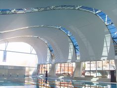 curved roof form