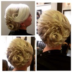 Rose hairup perfect for weddings!