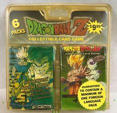 Dragon Ball Z Collectible Card Game 6 Packs Sealed Collectible Gift | Collectibles, Animation Art & Characters, Japanese, Anime | eBay!