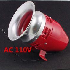 46.00$  Buy now - http://alithp.shopchina.info/1/go.php?t=32614467808 - MS-390 AC 110V Mini Motor Driven Air Raid Siren Horn  #buymethat