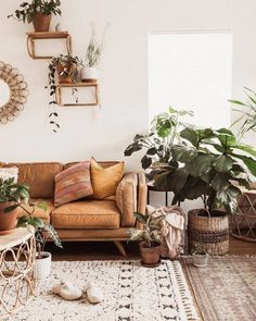 Great Interior Design Ideas to Lively up your Living Room! An all white interior design for your living rooms do … Boho Living Room, Cozy Living Rooms, Living Room Sofa, Interior Design Living Room, Living Room Designs, Apartment Living, Boho Room, Room Color Schemes, Room Colors
