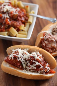 Try these crock pot meatballs for a different way to make a delicious plate of spaghetti or meatball sandwich!