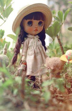 Custom Blythe by Pullip Custom, Custom Dolls, My Doll House, Camellia, Big Eyes, Blythe Dolls, Beautiful Dolls, Doll Dresses, Eye Art