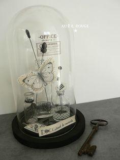 La cloche en verre sont tendances. Venez découvrir des idées sur le blog.