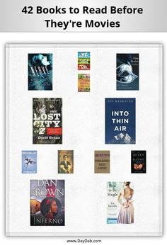 42 Books to Read Before They're Movies in 2015/2016!