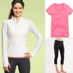 A Perfect Running Outfit For Beginners... maybe new clothes would be good inspiration to start running again :)