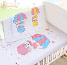 Envío gratuito algodón ecológico impermeable pies de altura bebé orina almohadilla cubierta Burp cambio Pads 35 * 45 cm al por mayor reutilizable(China (Mainland))