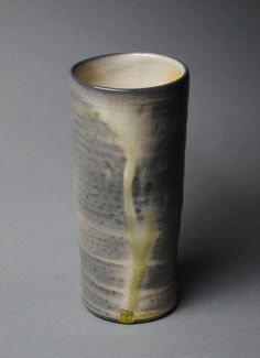 Tumbler Wine Cup Wood Fired L37 by JohnMcCoyPottery on Etsy, $28.00. www.JohnMcCoyPottery.com