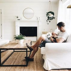 home office decor Baby Shooting, Ohana Means Family, Living Spaces, Living Room, Cute Family, Home And Deco, House Goals, Humble Abode, Future Baby
