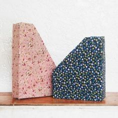 Transform old cereal boxes into cute file holders!