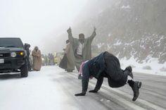 Saudis having fun