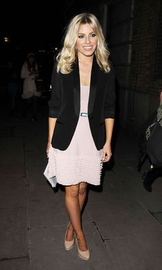 Mollie King Looked Party-Perfect At The Fashion East Show SS12