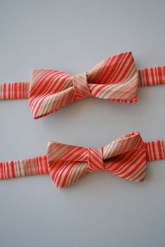 #coral bow tie for the ring bearer ... Wedding ideas for brides & bridesmaids, grooms & groomsmen, parents & planners ... https://itunes.apple.com/us/app/the-gold-wedding-planner/id498112599?ls=1=8 … plus how to organise an entire wedding, without overspending ♥ The Gold Wedding Planner iPhone App ♥