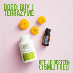 BOGO Week Day 2 of 5: Buy 1 TerraZyme get 1 DigestZen (15mL) FREE! Plus you can get our wholesale pricing, just comment below or pm us! Want to learn more about these and other oils, we can add you to our private Facebook group...again, just let us know.  (Today's BOGO for US, Canada and all NFR markets. Limit 5 per account. Not incl tax/shipping.)  #bogo #essentialoils #stomach #digestion #naturalhealth #bendoregon