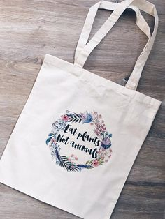 You never have to buy a plastic bag again! Because now you can use this awesome tote bag, with print! Do you have your own print, or do you want something else on the bag? Send me a message and I will see what I can do. 100% cotton, illustration transfert onto bag with over the