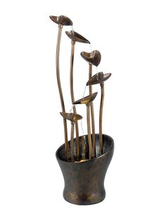 Sherwood Floor Fountain from Up to 70% Off: Outdoor Accents on Gilt