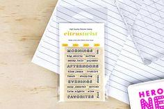 """September 2015 """"Favorites"""" Stamp"""