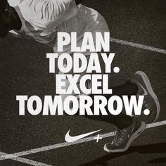 Plan today.