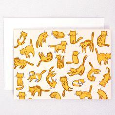 Hello!Lucky letterpress card