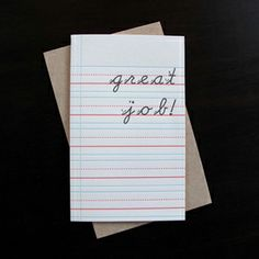 From Anemone Press on etsy via Oh So Beautiful Paper