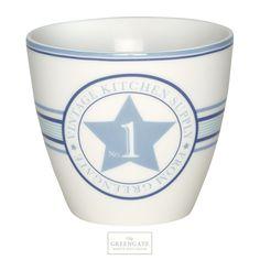 Greengate latte cup No1 indigo