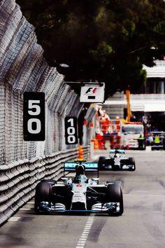 Nico Rosberg & Lewis Hamilton | Mercedes | GP Monaco, Montecarlo | F1 2014 Season