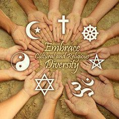 Coexist! Embrace all Cultures and Religions!