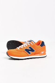 Royal Tru Orange - New Balance 574 Pique Polo Collection Running Sneaker // Urban Outfitters