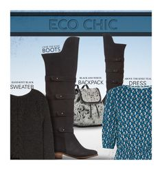 """Eco Chic: Over-the-Knee Boots"" by kurious ❤ liked on Polyvore featuring moda e STELLA McCARTNEY"