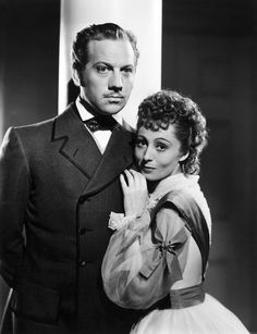 Melvyn Douglas & Luise Rainer