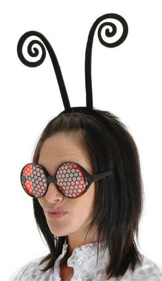 Black Antenna Headband Costume Accessory NEW Bug Fly Ant Butterfly Ladybug Bee | eBay