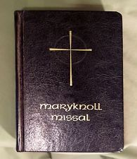 Vintage Maryknoll Missal Catholic Nuns Prayer Book Sister Mary Clarentia 1966